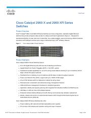 data_sheet_c78-728232 pdf - Data Sheet Cisco Catalyst 2960-X and
