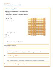 unit5task.pdf - Student Manual Math Ready Unit 5 Lessons 1 ...