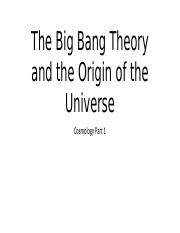 2_The Big Bang