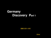 Germany Discovery Part 1  --  051406