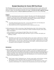 Comm296 Sample Final Exam Questions