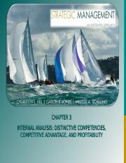 Chapter 3 Internal Analysis _ distinctive competencies, competitive advantage and profitability.ppt