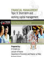 FIN5FMA Topic 9 (Short-term and working capital management).pptx