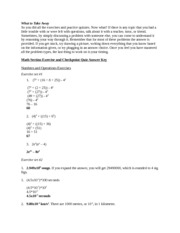 ISEE Math - Final Practice Test - Test Prep
