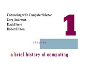 Chapter01.A brief history of computing