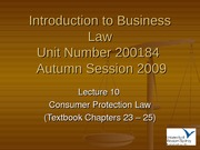 IBL Lecture 10 - Autumn 2009