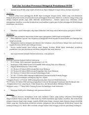 soal HAM.doc - Soal dan Jawaban Presentasi Mengenai ...