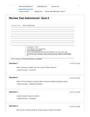 Review Test Submission_ Quiz 2
