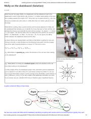 HW4 molly on a skateboard solution 10_1_14
