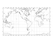 World Map 2 for Magnetic Poles of the Past