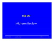 21 Midterm Review