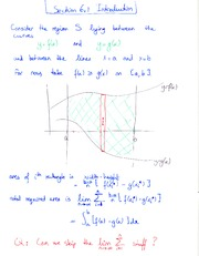 calc 12 area notes