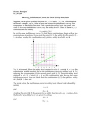 02. Graphing min. utility functions