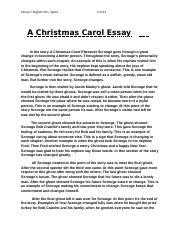 Persuasive Essay Papers  Pages Christmas C Essayrtf English Essay Ideas also Essay About Business Ap A Christmas Carol Essaydocx  Yahir Davila January   Mrs  Sample Essay Thesis