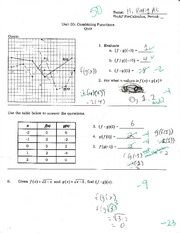 Practice quiz on combining functions