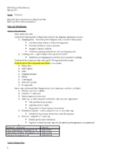ERP II Exam Three Review Spring 2013