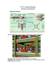 Structural Control Devices
