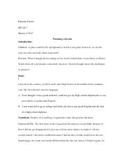 Self Introduction Speech Outline Template(2.pdf