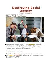 Destroying Social Anxiety.docx