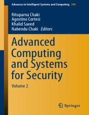 12. Advanced Computing and Systems for Security (compendio de articulos).pdf