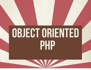 Lecture 4 - OOP in PHP