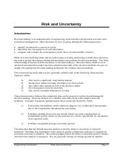 lecture risk and uncertainty 2014.pdf