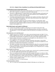 ACC 522 - Chapter 6 Notes