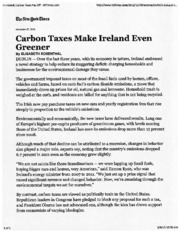 complete Carbon Taxes article