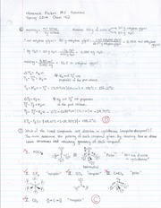 Homework Packet 2 Solutions