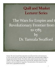 The Wars for Empire and the Revolutionary Frontier from 1689 to 1783