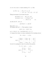 Linear Algebra Solutions 46