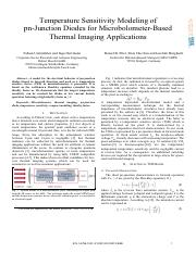 10.1109-ISCDG.2013.6656299-Temperature sensitivity modeling of pn-junction diodes for microbolometer