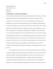 Essay 3 - Privacy and Public Image final draft
