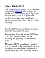 What is GDP.docx