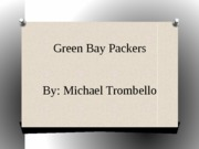 Green Bay Packers Visual Aide