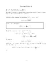 Gaussian inequality notes