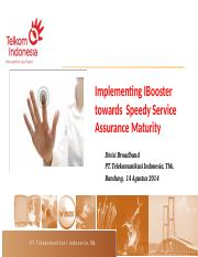 14082014 - Implementing IBooster towards Speedy Service Assurance Maturity.pptx