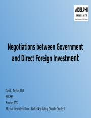 BUS 689-021 Ch 7 Negotiations  between Government and Direct Foreign Investment.pptx