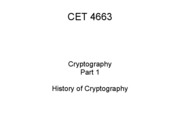 4 History of Cryptography