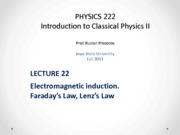 Lecture 22 - PHYS222_Fall2013
