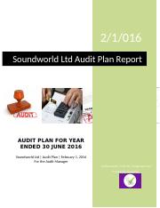 ACF!3005 - Assignment 2 - Report to Audit Manager.docx