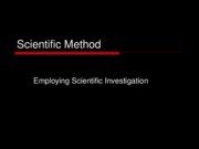 Scientific Method-1101