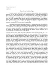 reflection paper tagalog