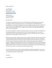 1 pages ecommerce interncoca cola - Deloitte Cover Letter
