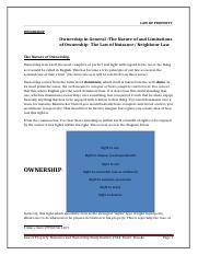 Nuisance and Planning Law Study Set 1