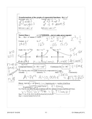 Ch 5 Exponential Functions day2 Completed Notes