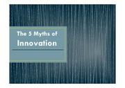 Reading Homework Assignment #1 about The 5 Myths of Innovation for Professional Reading with Answer