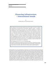 Financing-infrastructure-international-trends2014