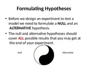 Hypothesis 2 Notes