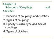 Chapter14-designofcouplingsandclutches